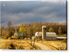 Acrylic Print featuring the photograph Thompson Point Dairy by Jeremy Farnsworth