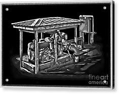 Thompson Pump 2 Acrylic Print by Walt Foegelle