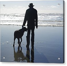 Thor At The Beach Acrylic Print