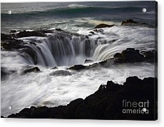 Thors Well Acrylic Print by Bob Christopher