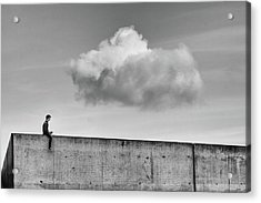 Thoughts In The Cloud Acrylic Print