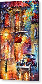 Thoughts Of My Ancestors  Acrylic Print by Leonid Afremov