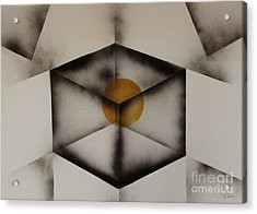 Thoughts Outside The Box. Acrylic Print by Kenneth Clarke