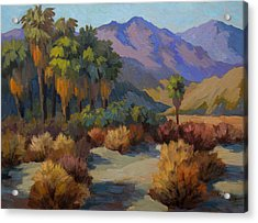 Thousand Palms Acrylic Print by Diane McClary