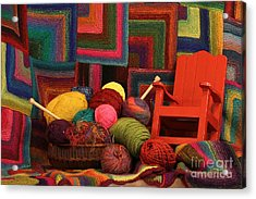 Threads Of The Soul Al Profits Benefit Hospice Of The Calumet Area Acrylic Print