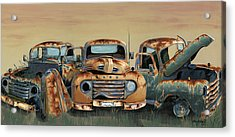 Three Amigos Acrylic Print by John Wyckoff