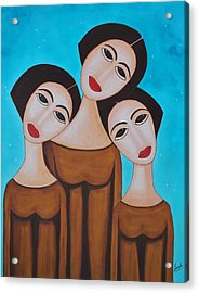 Three Angels Acrylic Print