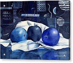 Three Apples Acrylic Print
