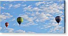 Three Beautiful Balloons In Cortez Acrylic Print