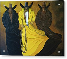 Three Brothers Acrylic Print by Lance Headlee