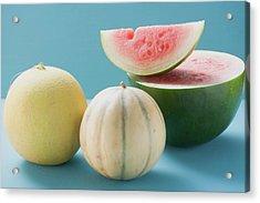 Three Different Melons Acrylic Print