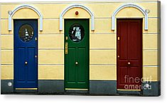 Three Doors Acrylic Print