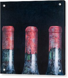 Three Dusty Clarets Acrylic Print by Lincoln Seligman