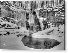 Three Falls Woods Acrylic Print