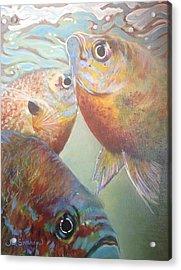 Three Fish Acrylic Print