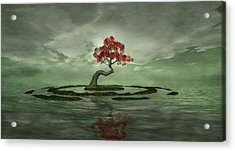 Three For My Heartache Acrylic Print by Whiskey Monday
