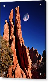 Three Graces At Garden Of The Gods Acrylic Print by John Hoffman