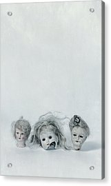 Three Heads Acrylic Print by Joana Kruse