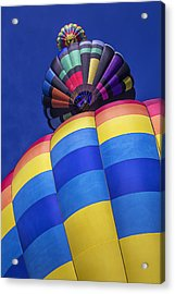 Three Hot Air Balloons Acrylic Print by Garry Gay