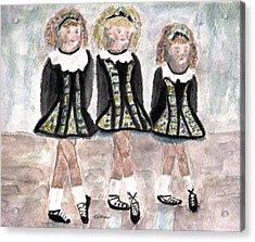 Three Irish Lasses Acrylic Print