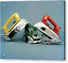 Three Irons By Casco Products Acrylic Print