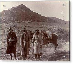 Three Kazaks Acrylic Print by British Library