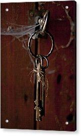 Three Keys Acrylic Print by Georgia Fowler
