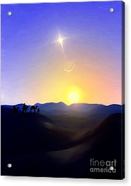 Three Kings Comet Acrylic Print