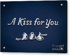 Three Kisses Acrylic Print