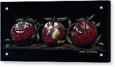 Three Macs Acrylic Print by Robert Goudreau