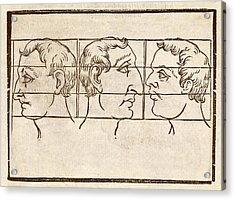 Three Nose Types Acrylic Print