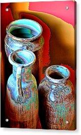Three Urns Acrylic Print