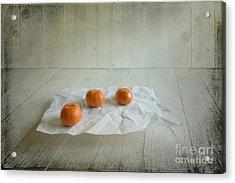 Three Acrylic Print by Veikko Suikkanen