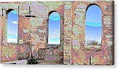 Three Windows Acrylic Print