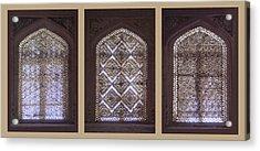 Three Windows To Bukhara Acrylic Print