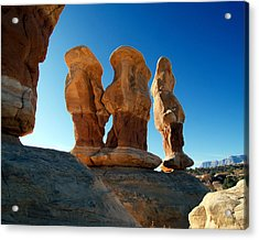 Devil's Garden Three Wise Men 24  Acrylic Print