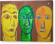 Three Wise Men Acrylic Print by Kazuya Akimoto