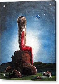 Three Wishes By Shawna Erback Acrylic Print by Shawna Erback