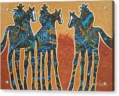 Three With Rope Acrylic Print