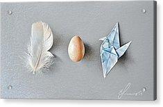 Three Wonders Acrylic Print by Elena Kolotusha