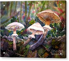 Three's Company Acrylic Print by Martha Ayotte