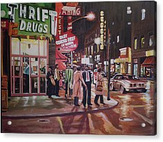 Thrift Drugs Acrylic Print by James Guentner