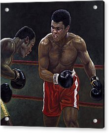 Thrilla In Manilla Acrylic Print by Gregory Perillo