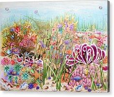 Thriving Ocean  Acrylic Print
