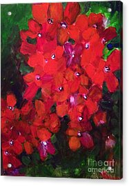 Thriving To Be Noticed Acrylic Print
