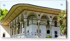 Throne Room Audience Chamber Topkapi Palace Istanbul Turkey Acrylic Print by PIXELS  XPOSED Ralph A Ledergerber Photography