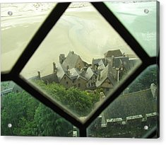 Through A Window To The Past Acrylic Print by Mary Ellen Mueller Legault