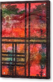 Through My Window 22 Acrylic Print
