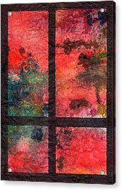 Through My Window 23 Acrylic Print