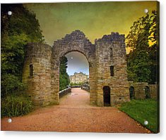 Acrylic Print featuring the photograph Through The Arch by Roy  McPeak
